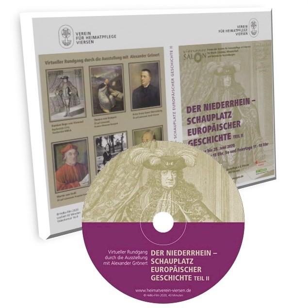 """DVD zur Ausstellung """"Der Niederrhein - Schauplatz europäischer Geschichte (Teil 2)"""